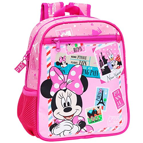 MEDIA WAVE store 4072151 Zaino asilo Minnie & Daisy cartella scuola Disney Junior 23 x 28 x 10 cm