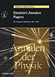 Einstein's Annalen Papers. The Complete Collection 1901-1922 -