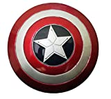 #4: Marvel Avengers Heavy Metal Shining Shield Hand Accessory with Strap to hold 10-12 cms For Kids / Adults (Captain America)