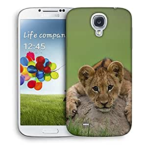 Snoogg Baby Lion Designer Protective Back Case Cover For Samsung Galaxy S4