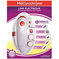 mercurochrome Elektrische Nagelfeile Pflege-Set Füße und Nägel preisvergleich bei billige-tabletten.eu