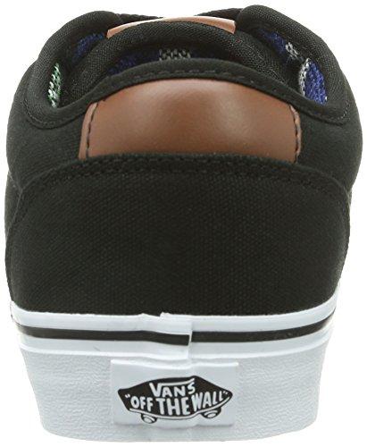 Vans M Atwood Deluxe, Baskets mode homme Noir (Black/Guatemala)