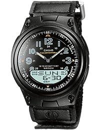 CASIO AW-80V-1BVEF - Reloj de caballero de cuarzo, correa de textil