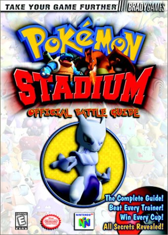 Pokemon Stadium Official Strategy Guide