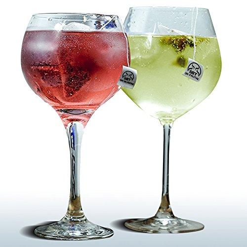 Gewürze für Gin Tonic, Pyramidenformat, 24 Stück für Gin Tonic. Einfache und praktische Anwendung, zwei Aromen: Fruchtaroma-Gin und Waldaroma-Gin. Natürliche Aromastoffe für Gin und weiße Liköre. Gin (Botanical Infusion)