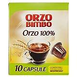 OrzoBimbo Capsule SOLO ORZO 100% - Compatibili con macchine Nespresso  - confezione da 10 capsule monodose