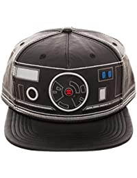 Star Wars BB-9 Embroidered Faux Leather Snapback Baseball Cap