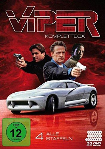 Viper - Komplettbox, Alle vier Staffeln (22 Discs)