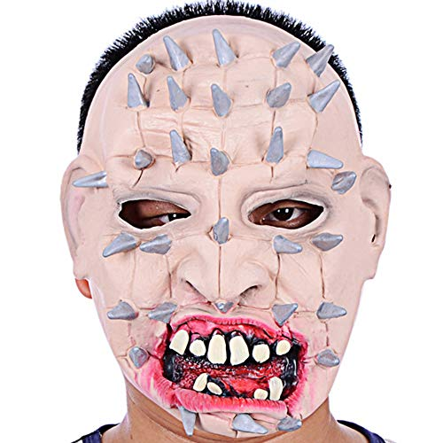 Halloween Cosplay Kostüm Gesicht Mask Erwachsene Verrücktes Fancy Dress Party Stütze Halloween Horror Maske Aus Kopfbedeckung Ghost Cosplay Mask Scary (Ratte Kostüm Fancy Dress)