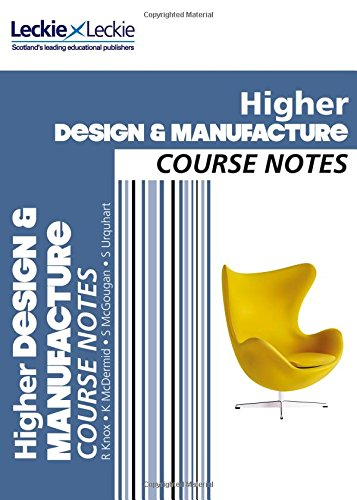 Higher Design and Manufacture Course Notes: For Curriculum for Excellence SQA Exams (Course Notes for SQA Exams)