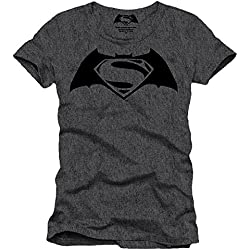 Batman - Camiseta para hombre gris L
