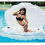 Nwlgl Übergroßes Schlauchboot Perlenschale Schwimmendes Bett Schwimmbad Schwimmendes Bett Sommer...