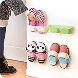 Tipo A parete rastrelliera per scarpe, Wave Style scarpe portaoggetti con due lati nastro