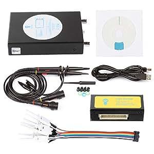 SainSmart DDS140 Virtuelle Oszilloskop 40MHz 200MS/s Portable Handheld PC-Based USB Digital Oscilloscope +Logik Analyzer