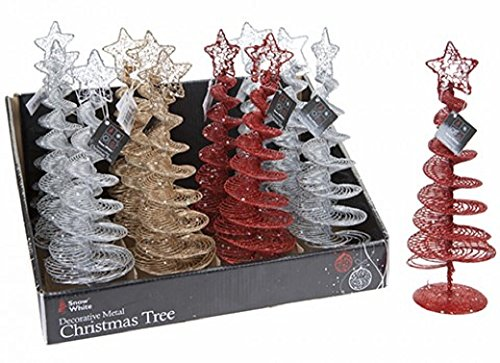 Disney PMS 3ASTD COL 25,4cm Spirale Mesh DSGN Metall Weihnachts Bäume in 12 (Weihnachten-mesh Für Bäume)