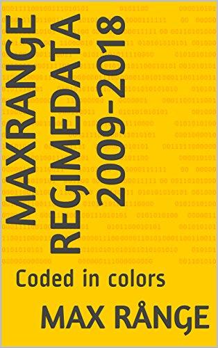 MaxRange Regimedata 2009-2018: Coded in colors (English Edition)
