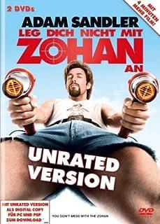 Leg dich nicht mit Zohan an (Unrated) [2 DVDs]