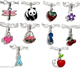 Best Clip On Charms - AST Works 50 PCs Mixed Clip On Enamel Review