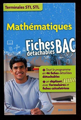 Mathématiques Fiches détachables BAC / Collectif / Réf: 25956