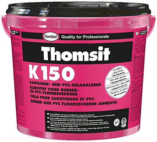 K 150 KAUTSCHUK- UND PVC-BELAG-KLEBER für Kautschuk- und PVC-Beläge auf saugfähigen Untergründen