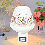 #2: Allin Exporters Pluggable Ceramic Oil Aroma Burner Night Lamp - Electric Plug In Wax Melter Air Fragrance and Aroma Diffuser for Home, Office and Spa (Colour May Vary)