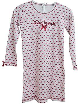 Mädchen Nachthemd Schön verpackt weiß mit Schleifchen von Louis&Louisa