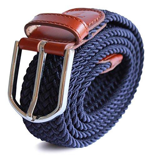 apparel-north-cinturn-elstico-trenzado-stretch-para-hombre-mltiples-colores-y-tamaos-detalles-de-cue