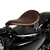Solo Sitz mit Grundplatte Craftride SG6 braun Kawasaki VN 1500 Classic/Classic Tourer/Drifter/ Mean Streak, VN 1600 Classic/Classic Tourer/Mean Streak, VN 1700 Classic/Tourer, VN-15