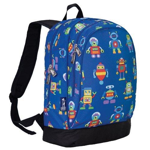 wildkin-sidekick-backpack-olive-kids-robot-by-wildkin