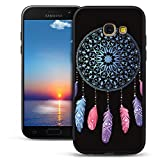 Mosoris Coque Galaxy A5 2017 Silicone, Etui A5 2017 Noir Mode Peint Ultra-Thin Souple...