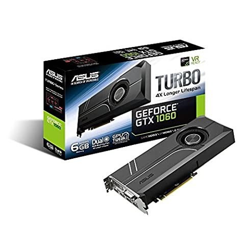 Asus Turbo-GTX1060-6G Gaming Nvidia GeForce Grafikkarte (PCIe 3.0, 6GB GDDR5