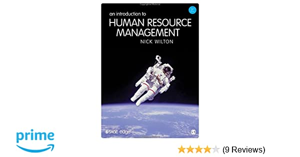 Introduction nick wilton an management to pdf human resource