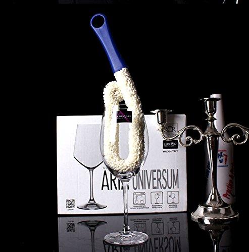 zhjz Creative Mehrzweck-Wein Dekanter Glas Bürste mit langem Griff Flasche Bürste