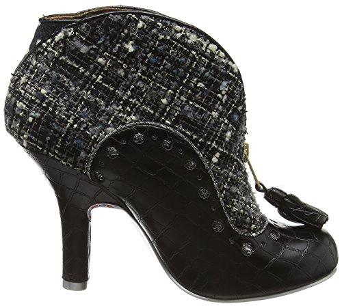 Irregular Choice Bees Nees, Zapatos De Tacón Negro Para Mujer (negro)