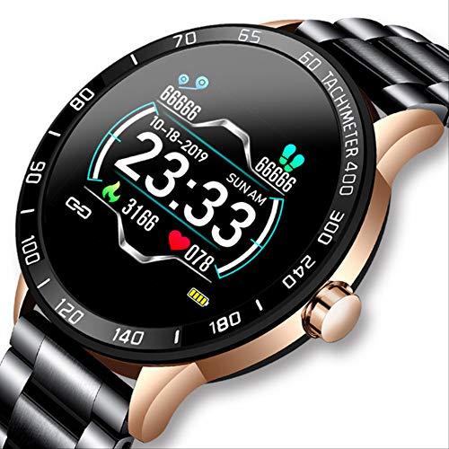 ZIHUINI smart Watch New Steel Belt Smart Watch Men Heart Rate Blood Pressure Health Monitoring Sport Waterproof Smartwatch Fitness Tracker China Gold