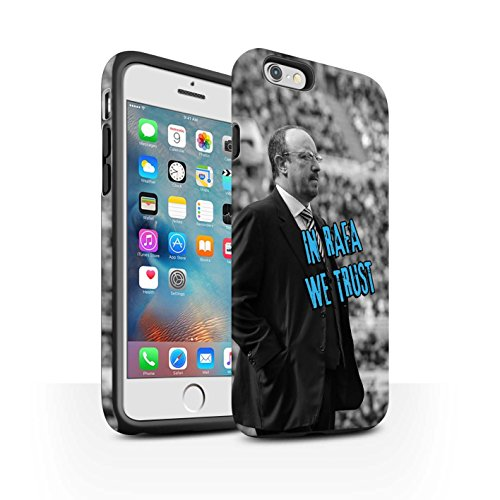 Offiziell Newcastle United FC Hülle / Matte Harten Stoßfest Case für Apple iPhone 6S+/Plus / Pack 8pcs Muster / NUFC Rafa Benítez Kollektion Wir Vertrauen