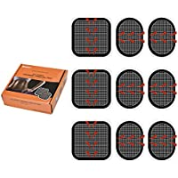 3 X Set of Electrodes Pads, JOINVALUE Replacement Body Gel Pads Adhesive For Slendertone Series Abdominal Belts.