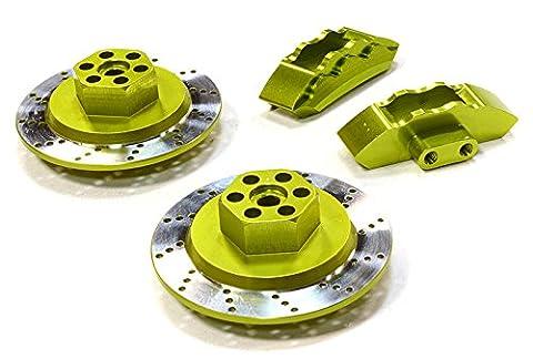 Integy RC Model Hop-ups C26454GREEN Realistic Alloy Machined Front Brake