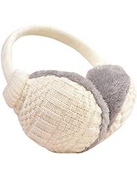 ZUMUii - Cache-oreilles - Femme blanc Weiß taille unique