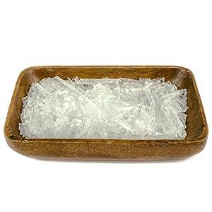 DIYer® – Mentholkristalle – PREMIUM Qualität – Saunakristalle Eiskristalle – aus 100% reinem Minzöl – für Sauna Aufgüsse – große Menthol Kristalle – 100g