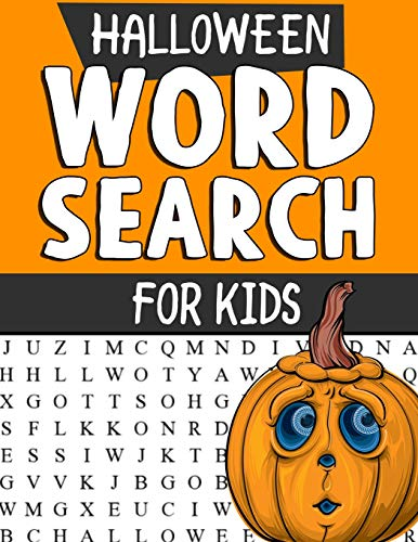 h Puzzles for Kids: Spooky Halloween Word Search Puzzles: Large Print Word Search, Halloween Puzzles, Word Search Book, Word Find ... And Adults (Supreme Spooks Activity Books) ()