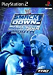 Jump into the ring as the Hulkster himself or run rampant with the Red Devil in WWE SmackDown! Shut Your Mouth. Destroy all who dare step into the ring with you. Annihilate opponents with a massive arsenal of signature moves like the Van Dam - inator...