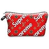 Samidy 1PC Women Travel Make Up Cosmetic Pouch Bag Clutch Handbag Casual Purse Supreme