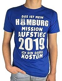a8041fcbaf Artdiktat Herren T-Shirt | Das ist Mein Hamburg Mission Aufstieg 2019 | Ich  Bin