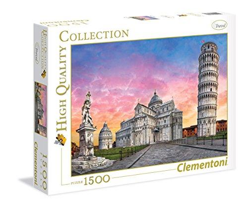Clementoni 31674. Puzzle 1500 Piezas. Pisa
