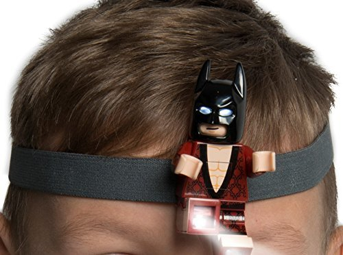 LEGO Batman der Film Kimono Batman LED Stirnlampe w / elastisches Stirnband