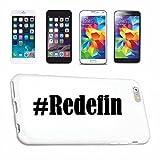 Handyhülle kompatibel mit Sony Xperia Z3 Hashtag #Redefin im Social Network Design Hardcase Schutzhülle Handy Cover Smart Cover