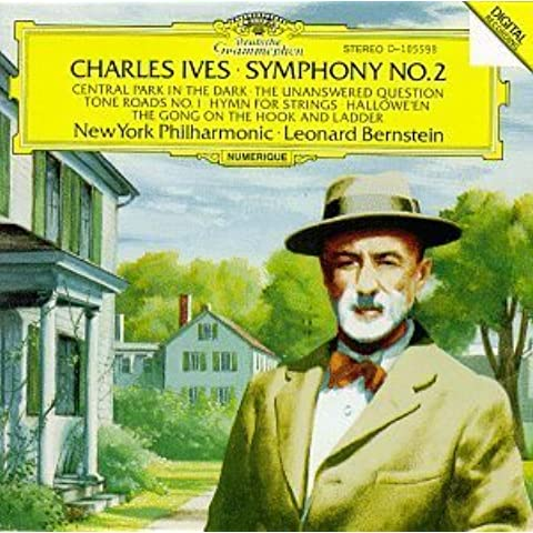 Ives: Symphony No. 2 / The Gong on the Hook & Ladder, or Firemen's Parade on Main Street / Tone Roads No. 1 / Hymn: Largo Cantabile, for String Orchestra / Hallowe'en / Central Park in the Dark / The Unanswered Question (1990) Audio CD