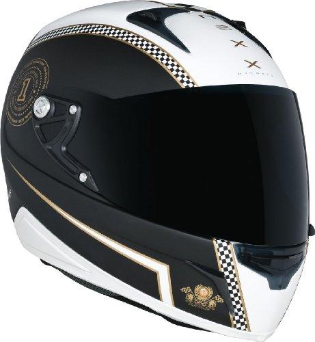 Preisvergleich Produktbild NEXX XR1R CAFÉ RACER schwarz/weiss/gold XS