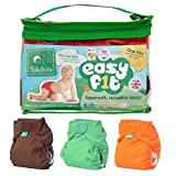 TotsBots Easy Fit Reusable Nappy - 3 Pack Rainbow